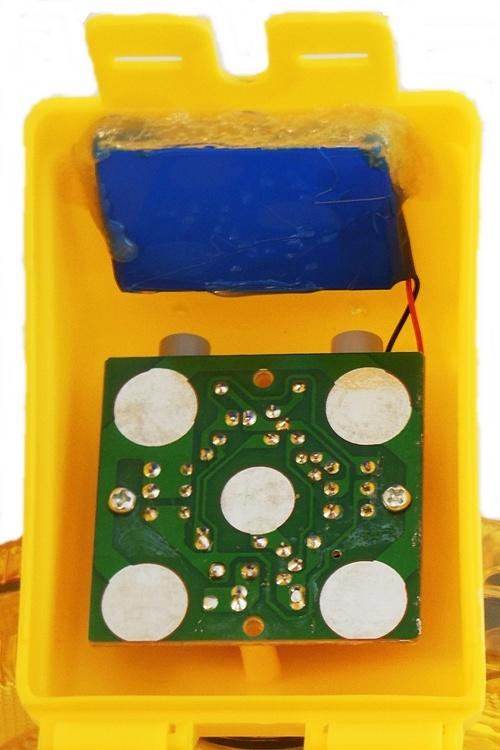 STAR Lampe de chantier rechargeable SOLSTAR - jaune