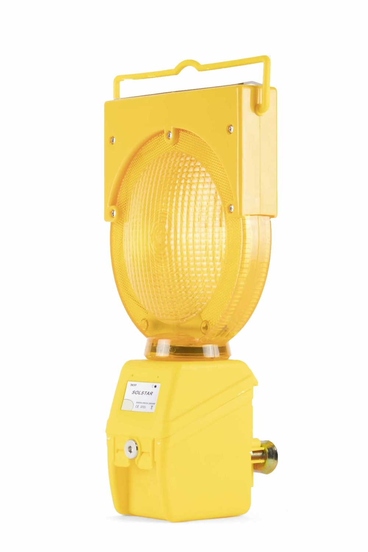 STAR Oplaadbare werflamp SOLSTAR - geel