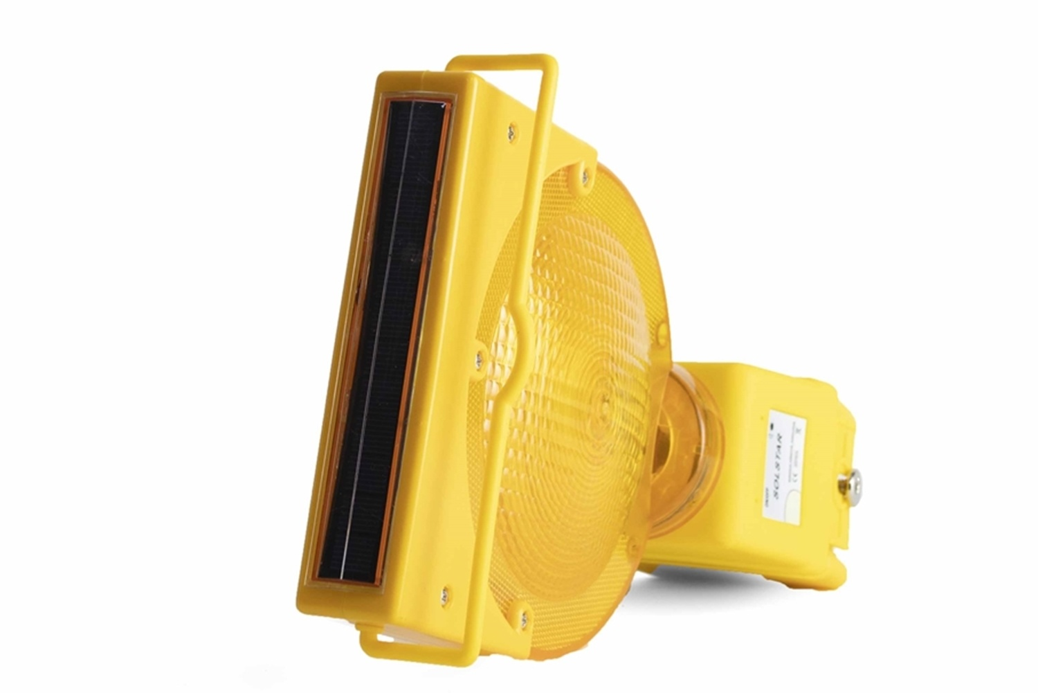 STAR Rechargeable warning lamp SOLSTAR - yellow