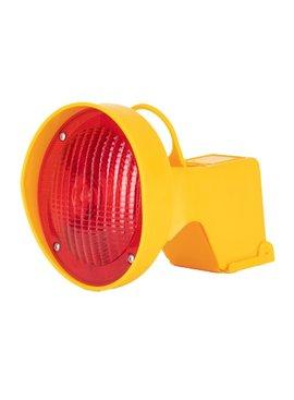 STAR Lampe de chantier pour cônes de signalisation - Rouge