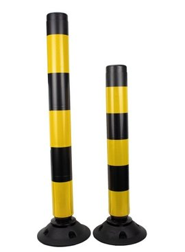 Flexible bollard FLEXPIN - Black/Yellow