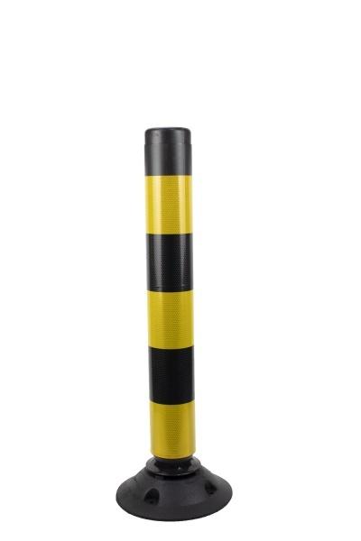 Flexible bollard FLEXPIN - Black/Yellow