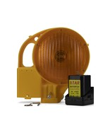 STAR Lampe de chantier STAR 8000 - simple face - jaune