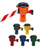 SKIPPER SKIPPER barrier belt unit  with 9 metersyellow/black tape - CAUTION