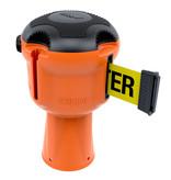 SKIPPER SKIPPER barrier belt unit  with 9 metersyellow/black tape - CAUTION DO NOT ENTER