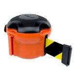 SKIPPER SKIPPER XS afzetlinthouder met 9 meter zwart/geel oprolbaar afzetlint