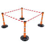 SKIPPER Lichaam van de oranje SKIPPER afzetpaal - vervangstuk