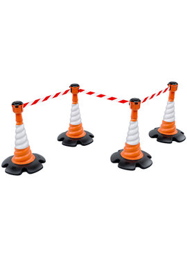 SKIPPER Skipper set of retractable barrier cones