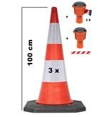 SKIPPER BIG set Skipper retractable barrier cones - crowd control