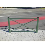 Fence Pagode large 158 x 80 cm - Green Ral 6009