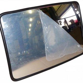 Verkeersspiegel industrie 400 x 600 mm - zwarte kader