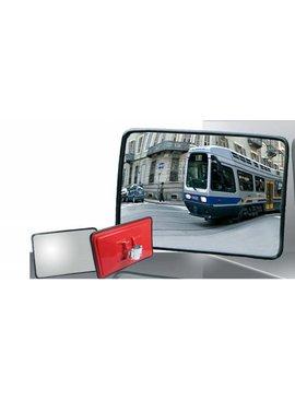 Miroir industrielle 400 x 600 mm - cadre noir
