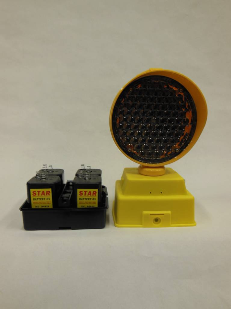 Warning light STARLED 4000-80 (excluding batteries).