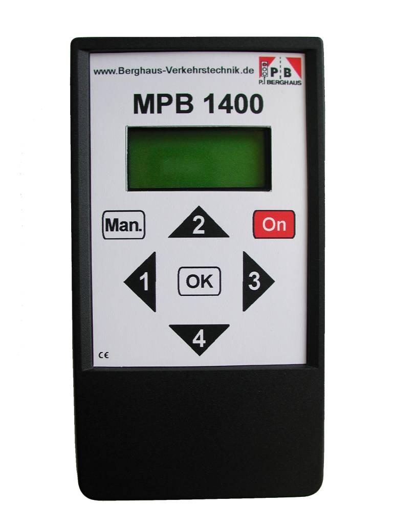 Bediening verkeerslicht MPB1400 Berghaus