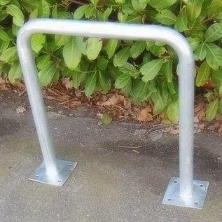Arceau vélo sur platines 600 x 650 mm