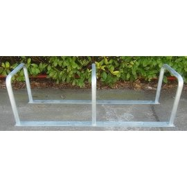 BICYCLE RACK WITH 3 BRACKETS 2000 x 600 x 650 mm