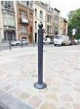 LAGOON BOLLARD Anthracite 80 cm - Ral 7016