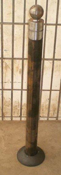 POTELET LAGUNE 80 cm Gris Ral 7016