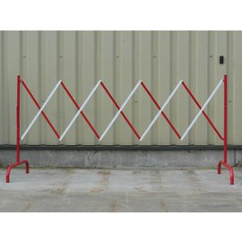Foldable fence 2,3 m Red/white