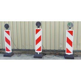 Set van 5 waarschuwingslichten in serie (LED licht)