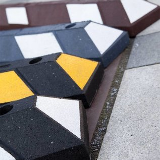 Parking stop Park-it® (Black and Yellow) 1200x150x100 mm