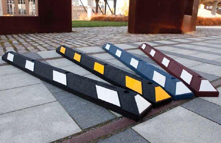 Butée de parking Park-it® (Noir-Jaune) 900x150x100 mm