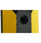 Parking stop Park-it® (Black and Yellow) 1800 x150 x100 mm