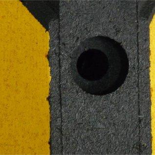 Butée de parking Park-it® (Noir-jaune) 1800 x150 x100 mm