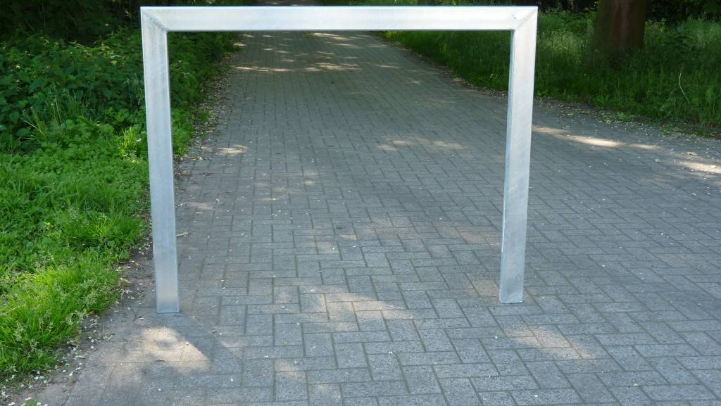 FIETSBEUGEL 1500 x1200 mm - rechthoekig gegalvaniseerd