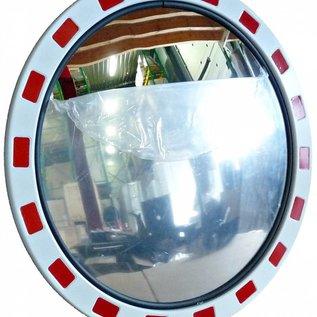 Traffic mirror Round 800 mm red/white