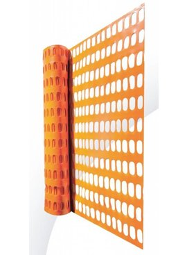 SAFETY BARRIER MESH - SAFETY FENCING - SKI FENCE