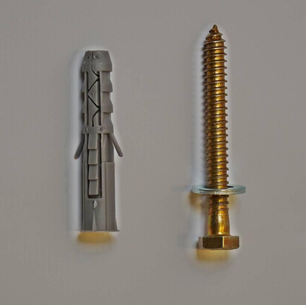 Bevestiging voor Big 5, Slowly 10 cm drempels (M12x10)