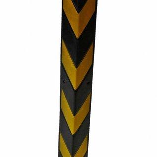 CORNER PROTECTOR 800 x100 x8 mm - yellow/black