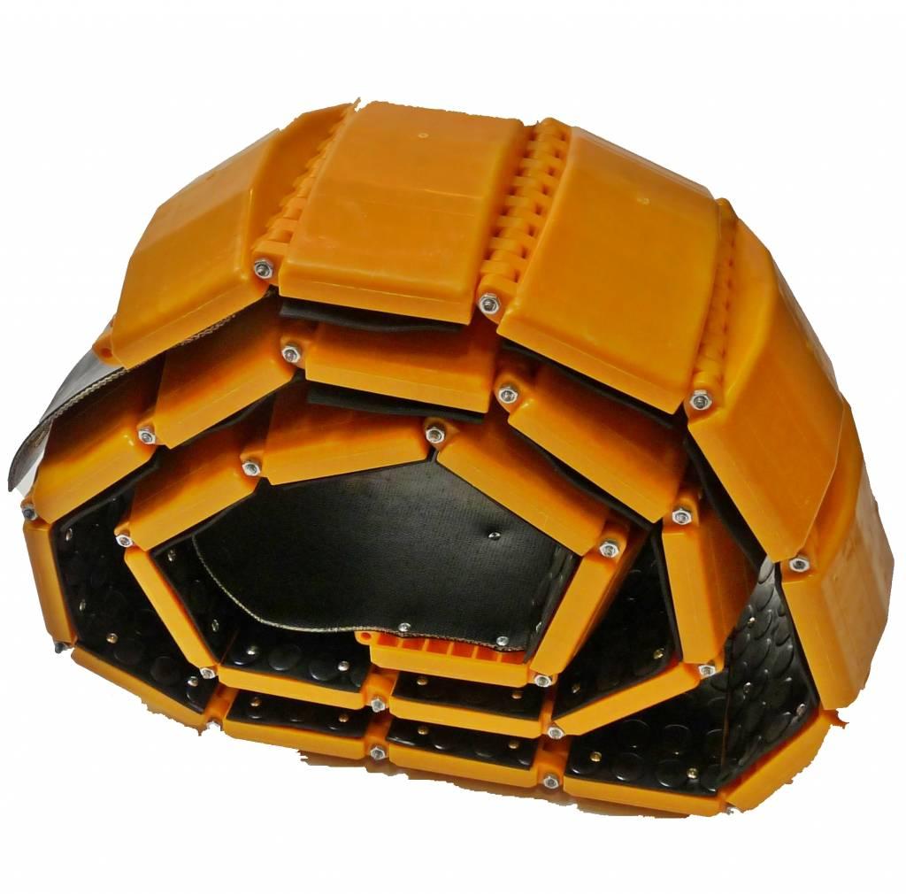 VERKEERSDREMPEL DRAAGBAAR - 3000 x 220 x 40 mm