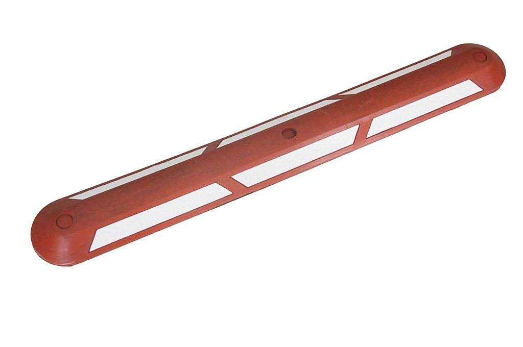 Bicycle path separator Red-White,100 cm