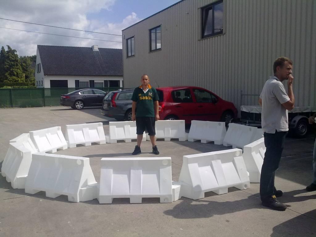 SEPARATOR UTILITY PVC 800 mm