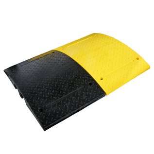 Traffic speed bump 'SLOWLY' 10 cm - for industrial sites
