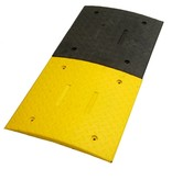 Traffic speed bump 'SLOWLY' - 3 cm - for industrial sites and car parks