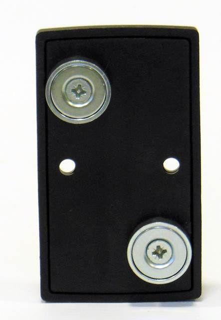 Magnetische wandplaat voor het fixeren van een 50 mm afzet band/lint