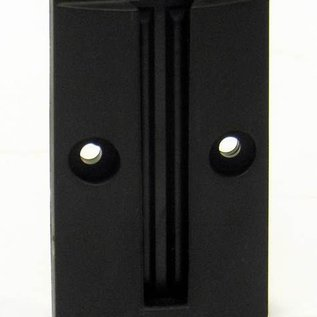 Wall plate with magnet for receiving a 50 mm strap
