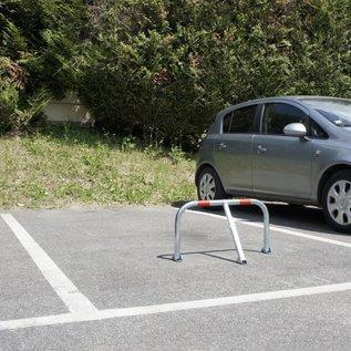 Arceau de parking + cadenas - 755 x 355 x Ø 38 mm