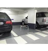 Arceau de parking avec serrure cylindrique + clé - 960 x 425 x 455 mm - Ø 60 mm