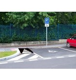 Wheelchair ramp 1000 x 750 x 100 mm