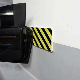 Bumper shock protection strips