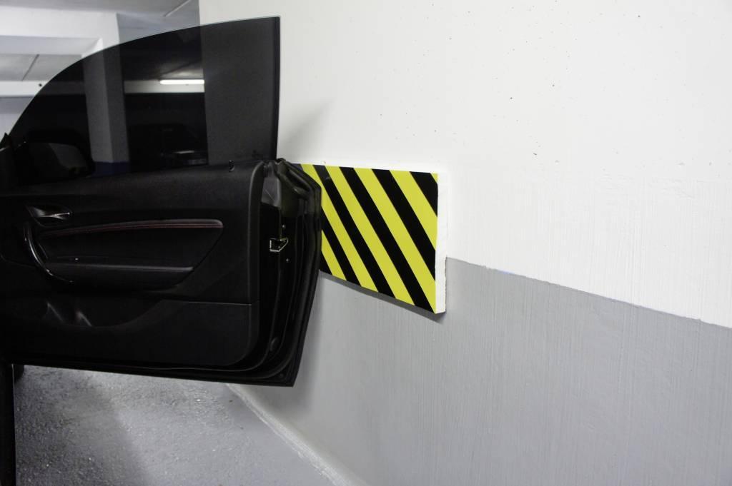Door impact protection strips