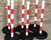 Bollards for chains