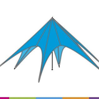 Starshade 80 (17M diam) - Colour- Velcro