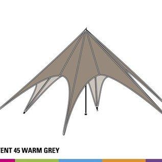 Startent 45 (14M diam) - Warm grey - Uit voorraad