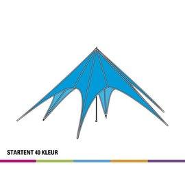 Startent 40 (13M diam) - Standaard kleur - Velcro