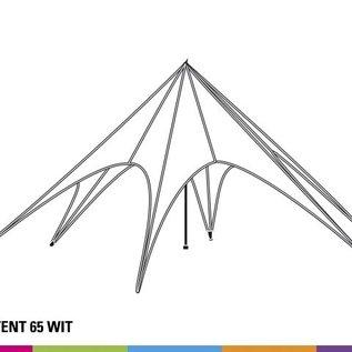 Starshade Basic 65 (16M diam) - White - Velcro